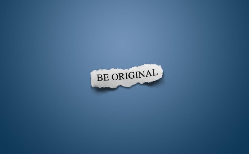 Budte originálni
